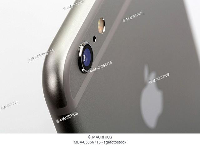 Apple iPhone 6 plus, back, camera, detail