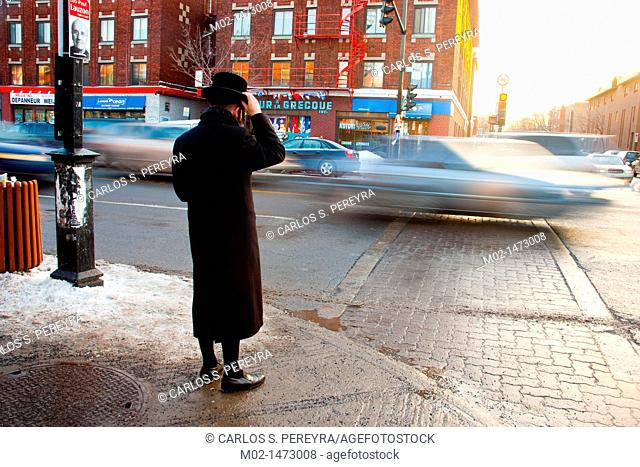 The Mile End neighborhood is characterized by the common life of people of Italian and Jewish people  Montreal, Canada