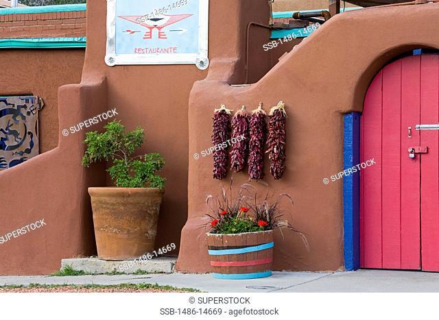 USA, New Mexico, Santa Fe, Casa Chimayo restaurant