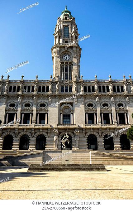Porto City Hall, Porto, Portugal, Europe