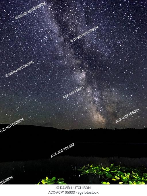 Milky Way, Fairy Lake Rec Site, Port Renfrew, Vancouver Island, BC, Canada