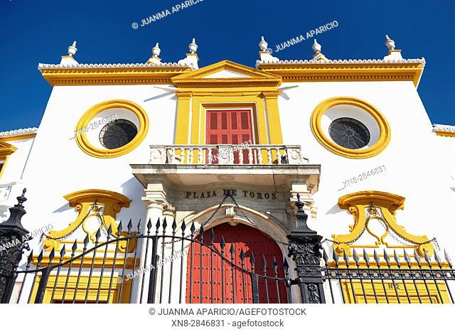 Plaza de Toros de La Maestranza, Sevilla, Andalusia, Spain, Europe