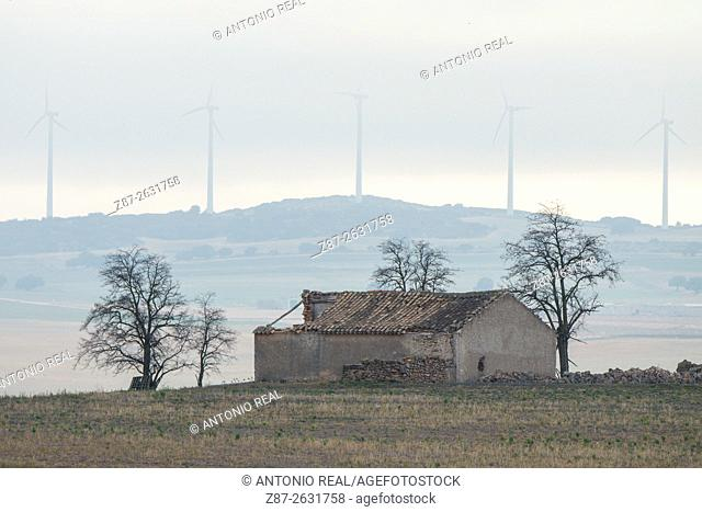 Farmhouse, Pétrola, Albacete province. Spain