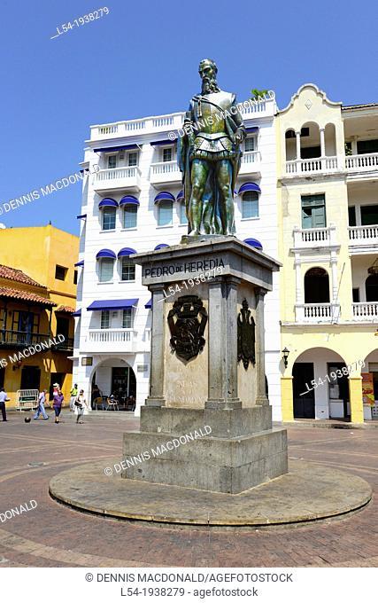 Pedro de Heredia Old City Cartagena Colombia SA South America Caribbean