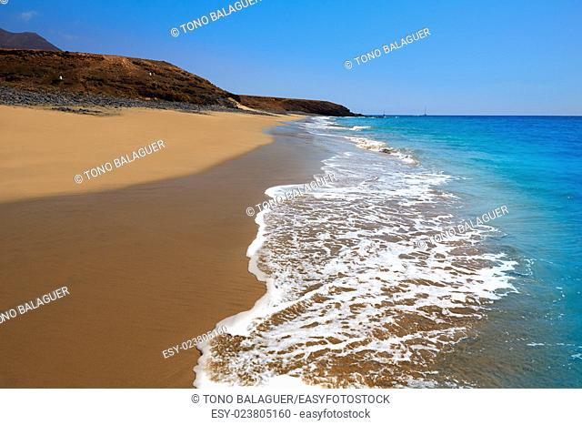 Jandia Beach Fuerteventura at Canary Islands of Spain