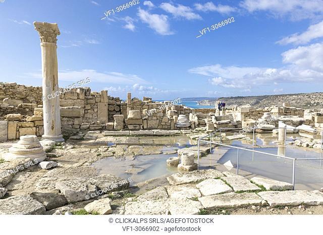 Cyprus, Limassol, Kourion Archeological site