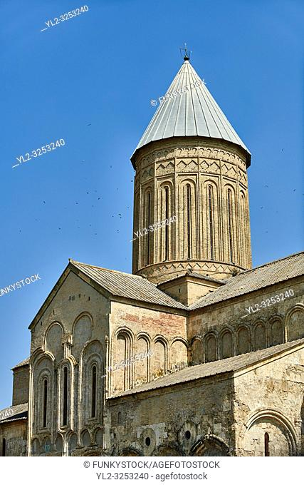 Pictures & images of the cupola of the medieval Alaverdi St George Cathedral & monastery complex, 11th century, near Telavi, Georgia (country)