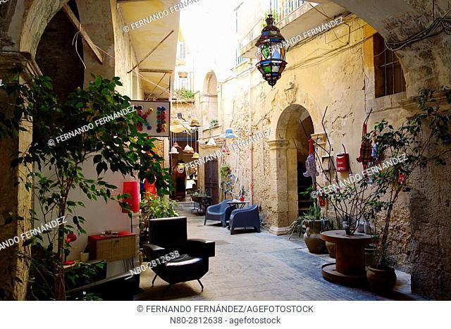 Ortygia. Syracuse. Sicily. Italy