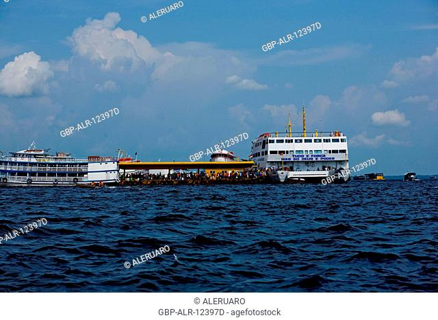 Flotation Porto, Amazônia, Manaus, Amazonas, Brazil