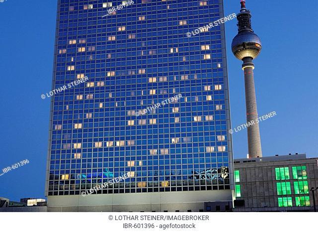 Hotel Park Inn near Fernsehturm (Tv tower) Berlin, Germany