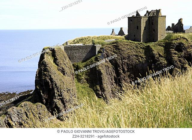 Dunnottar castle, Scotland, Highlands, United Kingdom