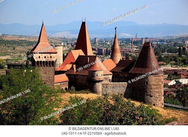 Corvin Castle, also known as Hunyad Castle or Hunedoara Castle, Castelul Huniazilor or Castelul Corvinilor, is a Gothic-Renaissance castle in Hunedoara