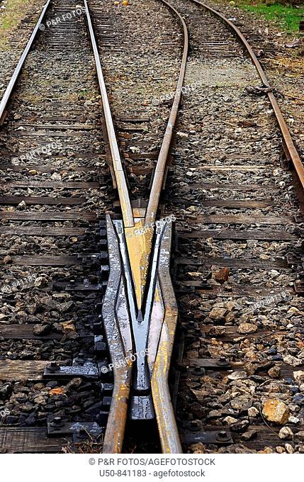 Railroad track, Brazil, 2008