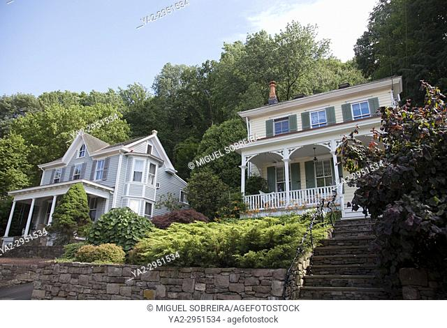 House on River Road in New Hope Pennsylvania - USA