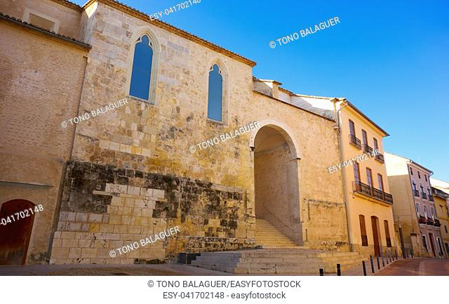 Sant Andreu in Xativa City Hall facade also Jativa at Valencia spain
