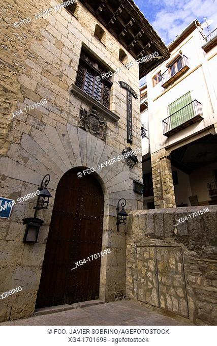 Palace Hotel Cardenal Ram fifteenth century - Morella – Els Ports - Castellon province – Comunidad Valenciana – Spain - Europe