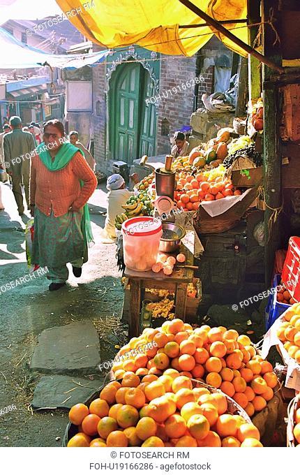 marketplace, vendor, market, seller, fruit, street