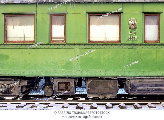 Stalin's personal railway carriage, Stalinâ. . s Museum, Gori, Georgia