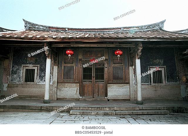 Ancestral temple, Zhaojiaobao, Zhangpu County, Fujian Province of People's Republic of China