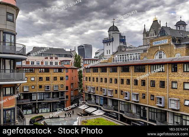 Modern Exclusive Apartments Built In A Converted Wharf Near Tower Bridge, London, England