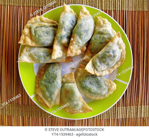 Greek Cuisine  Cheese and Spinach Pies, Kalitsounia