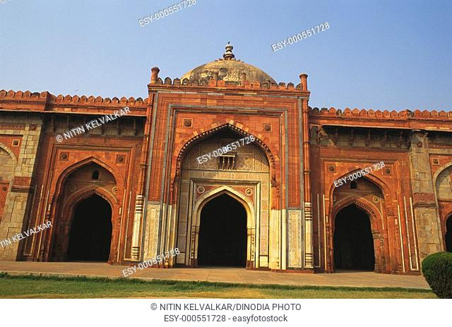 Qala Khina masjid in Purana Qila , New Delhi , India