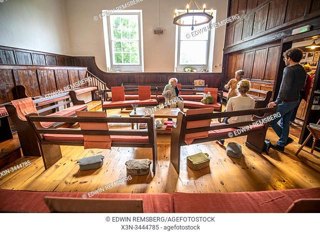 Bainbridge Quaker meeting in Wensleydale, Yorkshire, UK