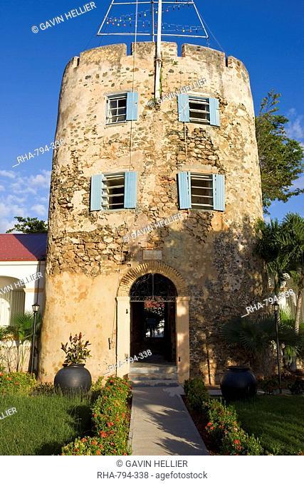 Bluebeards Castle in Charlotte Amalie, St. Thomas, U.S. Virgin Islands, West Indies, Caribbean, Central America