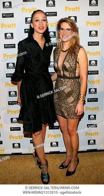 Pratt Institute's 115th annual student fashion show - Afterparty held at The High Line Hotel. Featuring: Pat Cleveland, Rachel Crumbley Where: New York City