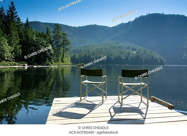 Klein Lake near Egmont, , Sunshine Coast, British Columbia, CanadaBritish Columbia, Canada