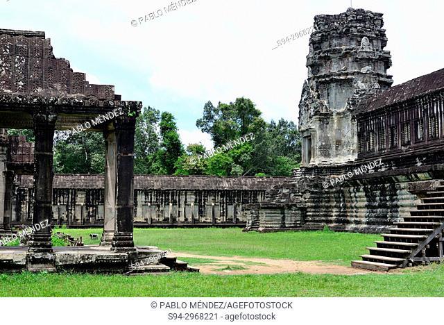 Angkor Wat, Angkor area, Siem Reap, Cambodia