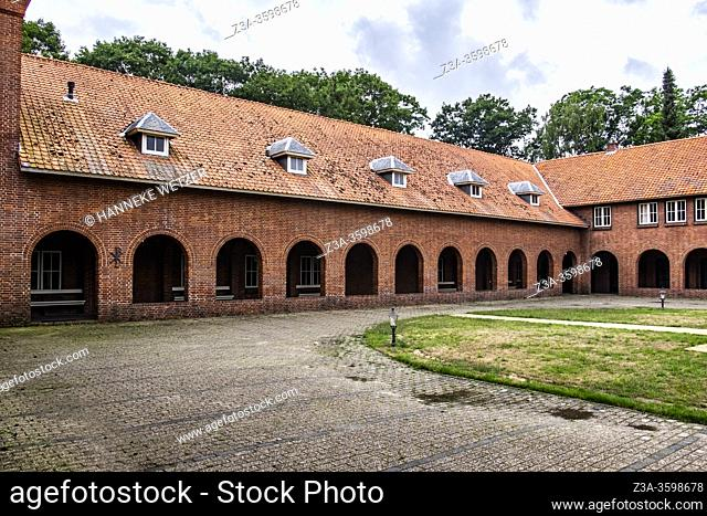 Old abbey in Ossendrecht, The Netherlands, Europe