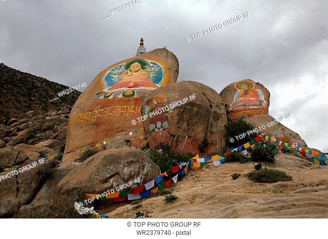 Tibet Lhasa Drepung Temple