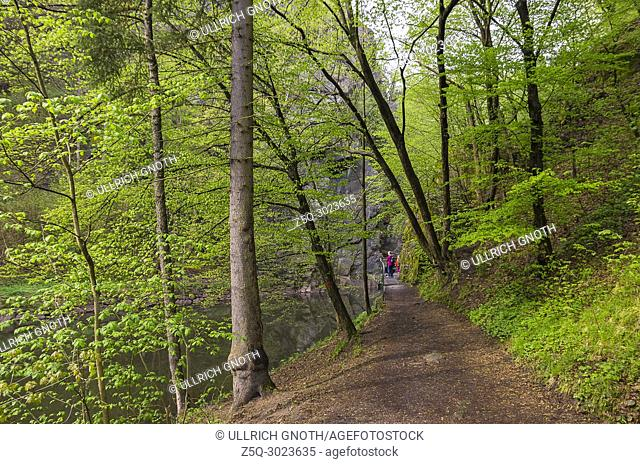 Impressions from Rieger Trail, Bohemian Paradise (Cesky Raj), Czech Republic