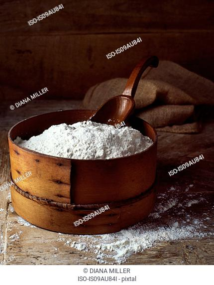 Traditional bakery ingredients, flour
