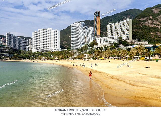 The Sandy Beach At Repulse Bay, Hong Kong, China