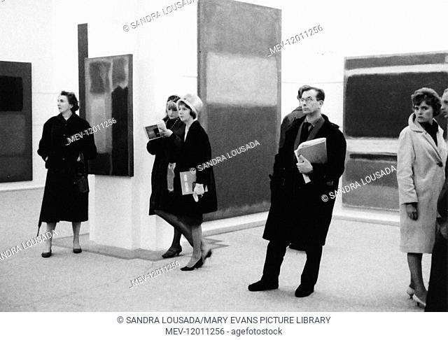 Mark Rothko Exhibition - Whitechapel Gallery Exhibition, 1961