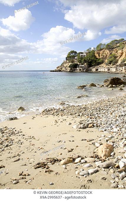 Cala Hort Cove Beach, Ibiza, Spain