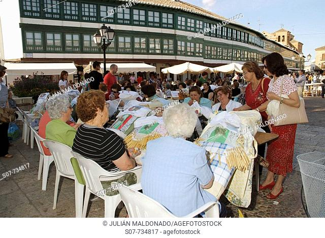 XII National Meeting Encajeras Concentration, Almagro
