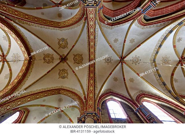 St. Petri Cathedral, ceiling, Bremen, Germany