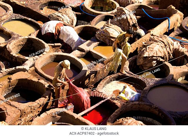Tanneries, Fes, Morocco