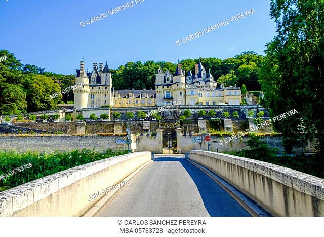 Castle of Rigny-Ussé, Loire Valley, France, Europe