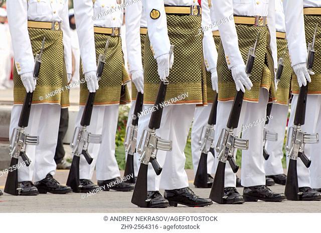 system of royal guard, 16 September - Hari Merdeka (Independence Day) Kuala Lumpur, Malaysia