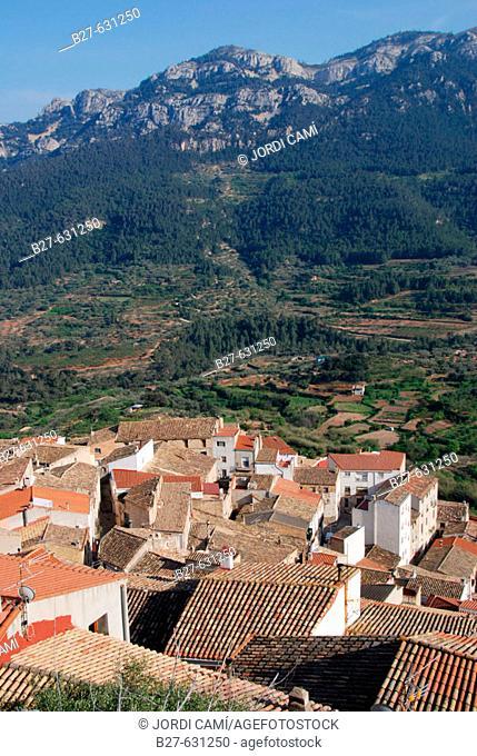 Paüls, near els Ports de Beseit. Baix Ebre. Tarragona province. Catalonia, Spain