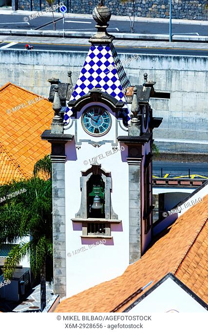 Sao Bento church. Ribeira Brava village. Madeira, Portugal, Europe