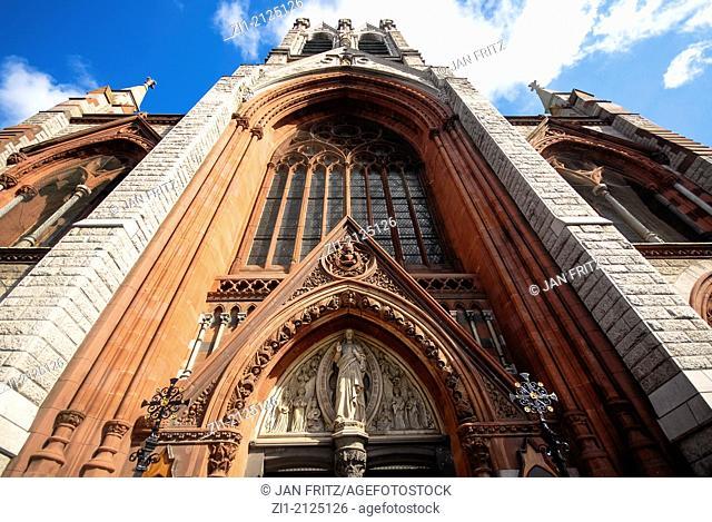 entrance of St. John Church in Dublin, Ireland