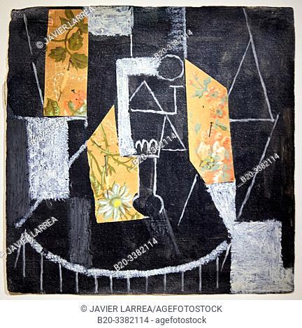 """""""Verre sur un guéridon"""", 1913, Pablo Picasso, Picasso Museum, Paris, France, Europe"""