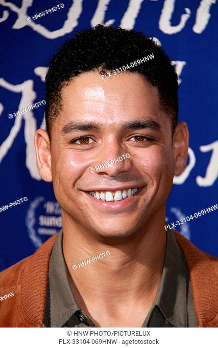 Charlie Barnett at The Birth of a Nation Los Angeles Premiere held at the Cinerama Dome on Wednesday, Sept. 21, 2016, in Los Angeles, California
