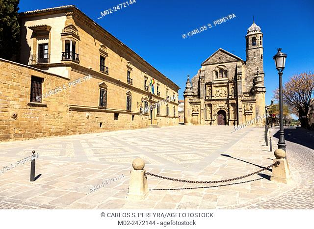 The Sacred Chapel of El Salvador (Capilla del Salvador) in Ubeda, province of Jaen, Andalusia, Spain