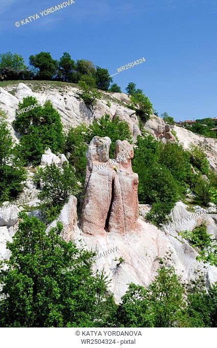 Rock phenomenon Stone Wedding near town of Kardzhali, Rhodope, Bulgaria